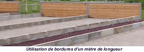 terrain de petanque dans son jardin par m pour utiliser. Black Bedroom Furniture Sets. Home Design Ideas