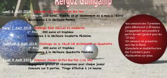 Guingamp(22): Quatre concours à Kergoz du 6 au 9août