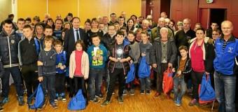 Ploufragan(22): Challenge de boule bretonne. Les lauréats à l'honneur