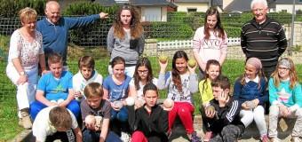 Plouaret(22): Activités périscolaires, Initiation à la boule à l'école Jean-Denis