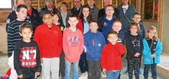 Trévou-Tréguignec(22): Les jeunes boulistes à l'abri
