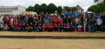 Quessoy(22) : 79 particpants au challenge jeunes