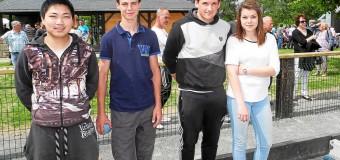 Tonquédec(22): Les élèves talonnent les maîtres