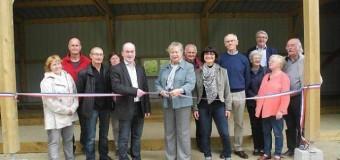 Bubry(56): Près du skatepark, le nouveau boulodrome inauguré