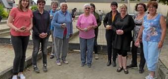 Mûr de Bretagne(22): Les femmes bien présentes aux concours de boules