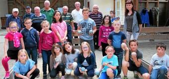 La Motte(22): Initiation à la boule bretonne