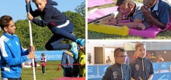 Mûr de bretagne(22) : De la boule bretonne proposée aux 1 550 élèves au biathlon Sports-nature à Guerlédan