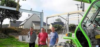 Pluzunet(22): Le boulodrome couvert sera inauguré en Janvier