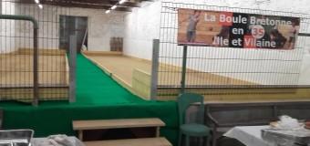 Montfort sur Meu-Iffendic(35): L'association Jeux traditionnels de pays a maintenant sa salle de boules bretonnes !