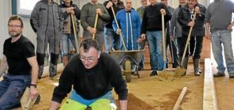 Plurien(22): Rénovation complète de deux terrains de boules