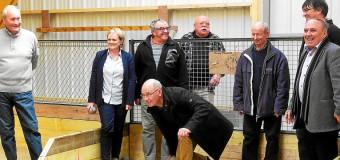 Baud(56): Le boulodrome couvert inauguré