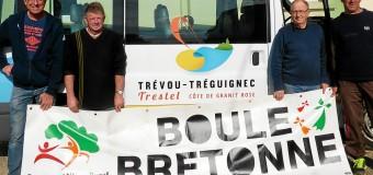 Trévou-Tréguignec(22): UBDC, les boulistes à Lussac-Saint-Émilion