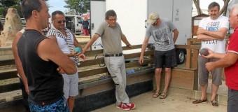 Damgan(56): Succès pour la boule bretonne damganaise cet été