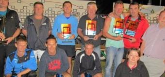 Plouay(56): Les finalistes du concours de boules du comité des fêtes