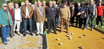 Saint-Alban(22): Boulodrome, deux nouveaux jeux de plein air