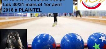 Plaintel(22): Championnat France Raffa Volo du 30 mars au 1er avril