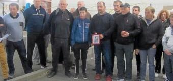 Lézardrieux(22): Les boulistes rendent hommage à Georges Perennès