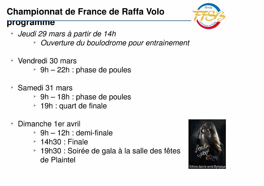 Presentation championnat de France Raffa Volo-10