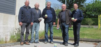Venansault(85): La boule bretonne se joue au Val-Guyon
