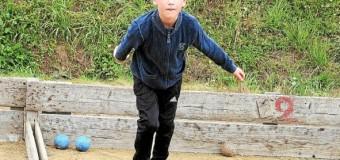 Saint-Donan(22): Challenge jeunes de boule, participation un peu décevante.