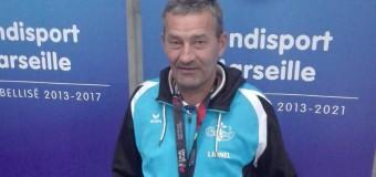 Montauban-de-bretagne(35): Championnat de boccia, Lionel Guinard sur le podium
