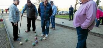 Questembert(56): Boule Questembertoise, les retraités en concours