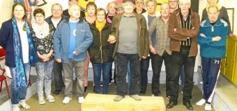 Brest(29): Tournoi interne à la boule bretonne