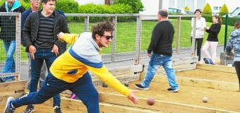 Saint-Nicolas-du-Pélem(22): Belle affluence aux boules