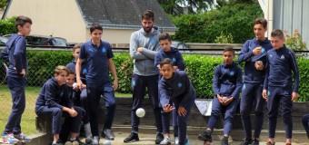 Tournoi de Guerlédan(22): Quand les jeunes de l'OM découvrent la boule bretonne