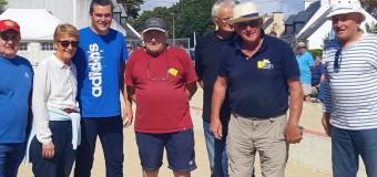 Gâvres(56): Odile, une passionnée de boules bretonnes