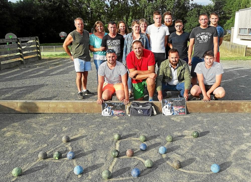 l'ABC, inscrit son emprunte pour les grands concours de boules du Trégor, son concours se tiendra les 17 et 18 aout prochain.
