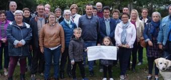 Elven(56): 3167€ remis à cinq associations par la Boule elvinoise