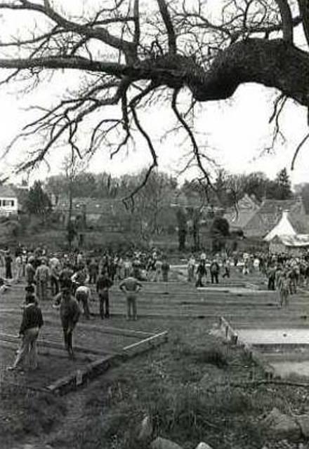 1982 Bubry concours de boules à Kerboharne 1