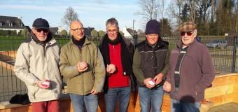 Binic(22): Les nouveaux terrains de boule bretonne sont achevés