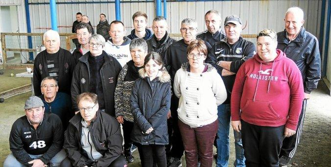L'Union bouliste gracieuse s'est réunie samedi pour une rencontre amicale.
