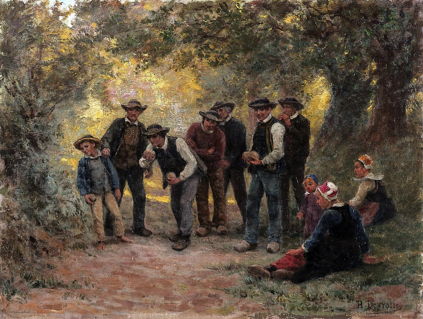 Théophile_Deyrolle_Les_joueurs_de_boules_Beuzec-Conq_Musée_beaux-arts_Quimper02