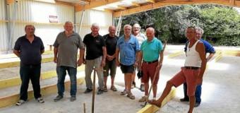 Plescop(56): La boule bretonne installe ses jeux pour être fin prête pour la mi-septembre