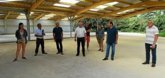 Plescop(56): Le hangar pour les clubs de boules sera opérationnel à la mi-septembre