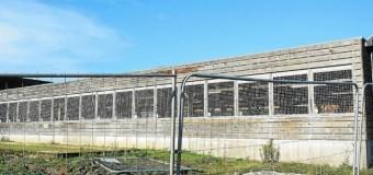 Quévert(22): La tempête Alex a endommagé le toit du terrain de boule de Quévert