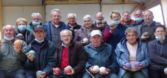 Peillac(56): des jeux de boules couverts