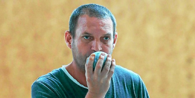 Pas de concours en fin d'année pour Manu Pieffer et les accros de boules bretonnes.