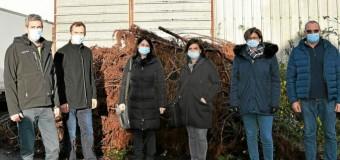 Plœuc-sur-Lié(22) : Les travaux du futur boulodrome rue de Montifault ont débuté
