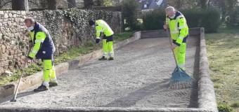 La Gouesnière(35): Le boulodrome est restauré
