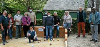 Pluvigner(56): La Boule bretonne inaugure son nouvel espace de jeu