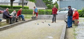 Noyal-Pontivy(56): Le soleil revient, les jeux de boules se garnissent