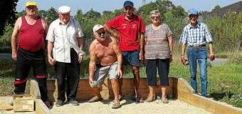 Plescop(56): Un nouveau jeu de boules derrière la chapelle Saint-Hamon