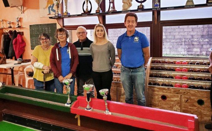 Les finalistes de la boule bretonne ce samedi avec le concours Morgane Calmettes.
